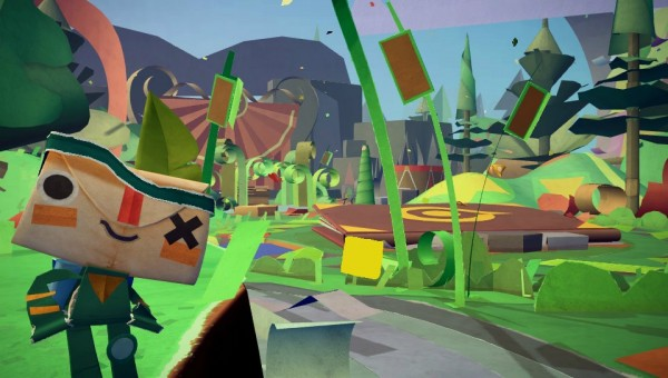 Media Molecule's <i>Tearaway</i> was among the new titles announced for the Vita today.