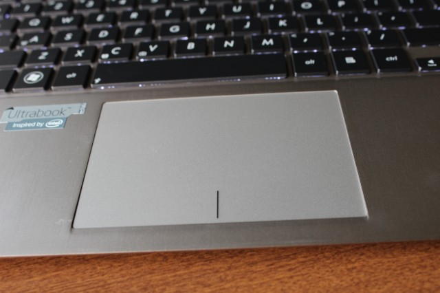 The UX31A's trackpad is reformed and ready to re-enter society.