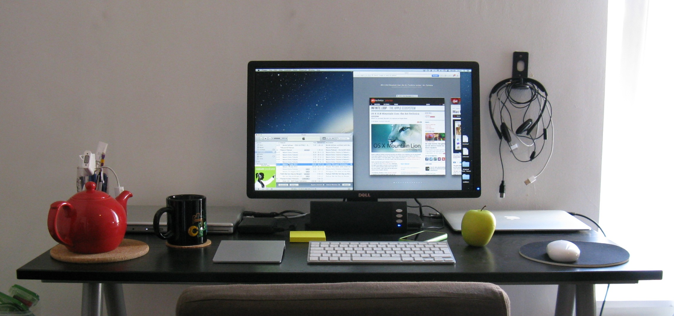 Ars staffers exposed our home office setups ars technica for Best home office desktop computers