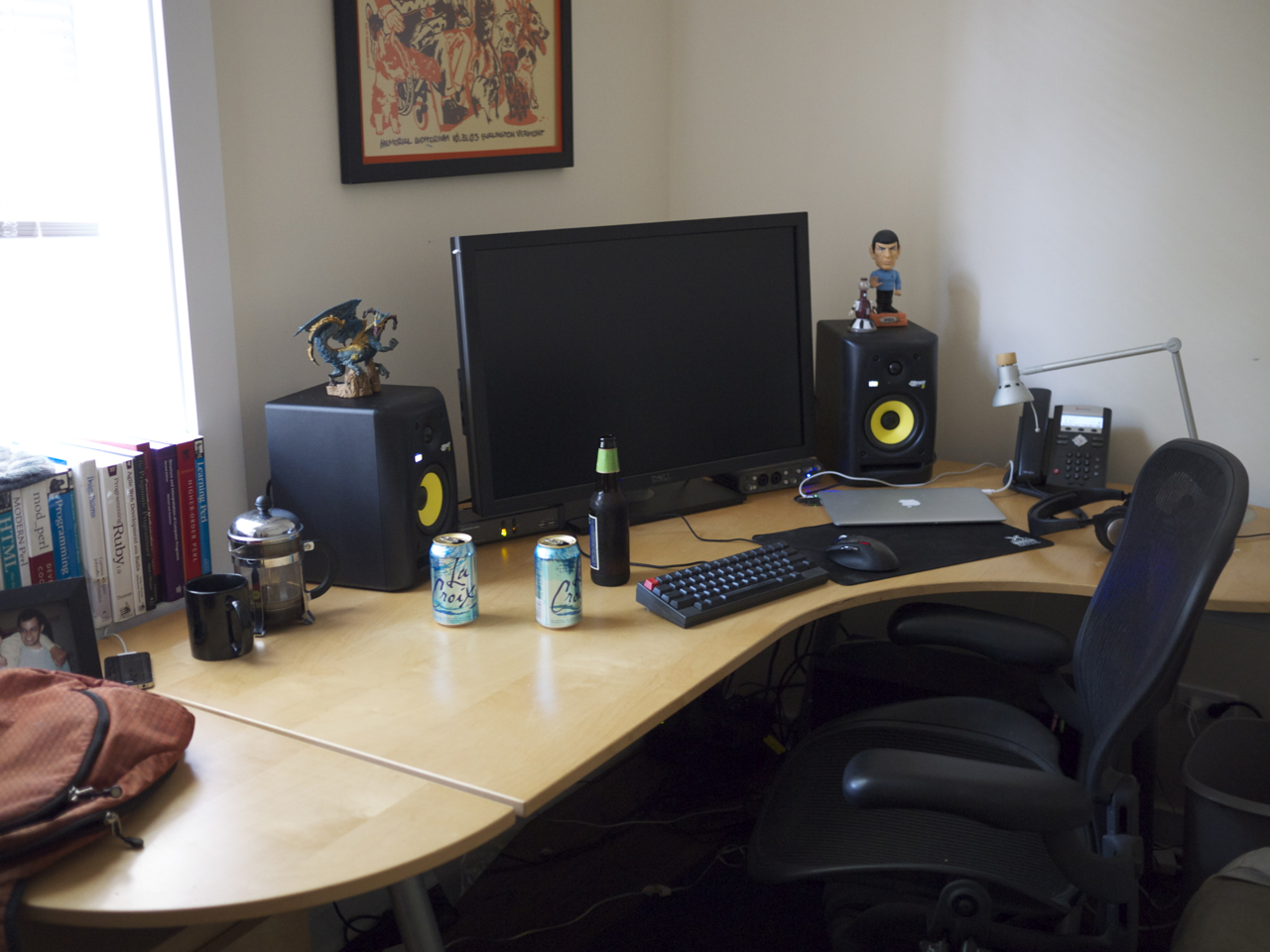 Bedroom Design Ideas For Men Ars Staffers Exposed Our Home Office Setups Ars Technica