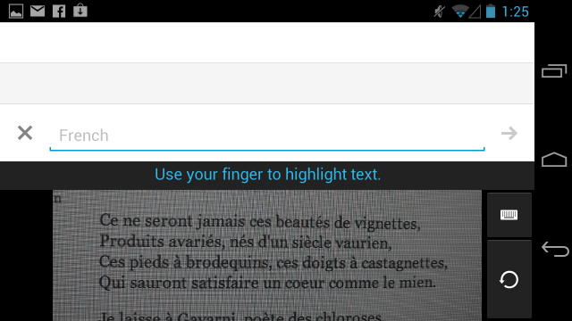 Google Translate can now read images of text