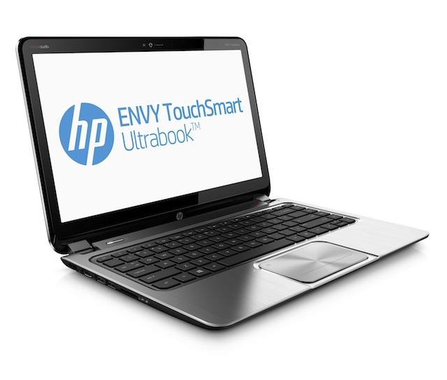 The 14-inch TouchSmart Ultrabook, with optional AMD discrete graphics.