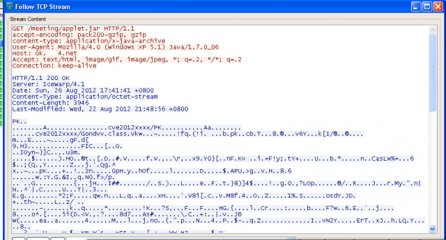 An exploit that FireEye researchers observed on Sunday being hosted on a domain named ok.XXX4.net.