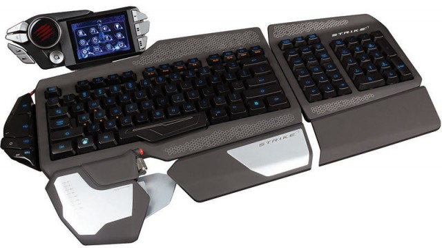 MadCatz unveils over-the-top S.T.R.I.K.E. 7 gaming keyboard