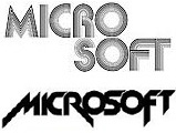 From disco to metal: Microsoft's first two logos