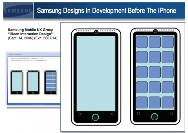 Samsung's case that it didn't copy the iPhone and iPad—in