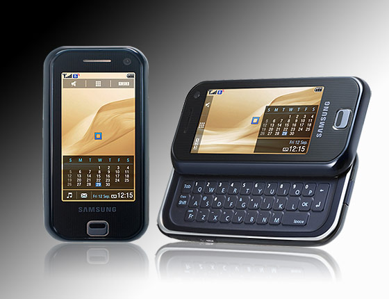 Samsung wanted to show evidence that this phone (the F700) was designed prior to the iPhone.