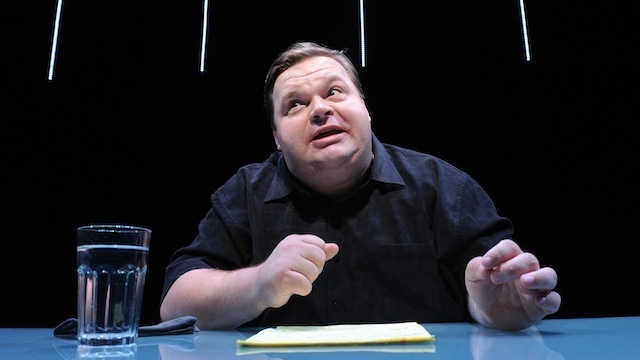Mike Daisey in <i>The Agony and the Ecstasy of Steve Jobs</i>