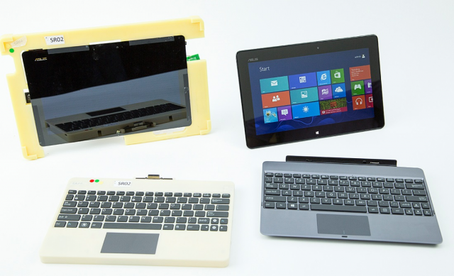 Prototypes and pre-release Windows RT hardware.