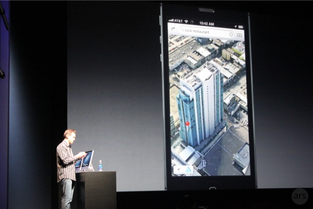 Demoing maps in iOS 6.