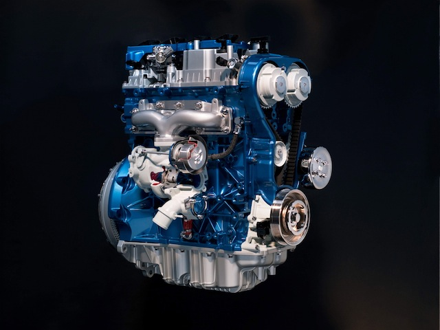 Ford's 1.6 L four-cylinder EcoBoost engine.