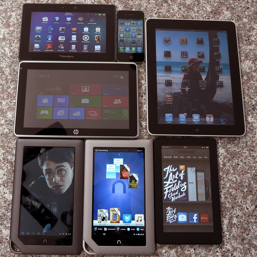 With more options to choose from, what do you think makes a tablet?