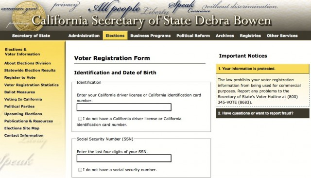 California Voter Online Registration Launches Ars Technica