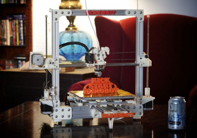 The Deezmaker store will feature the $600 Bukobot 3D printer.
