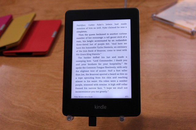 Amazon's new $119 Kindle Paperwhite e-reader comes with front-lit screen