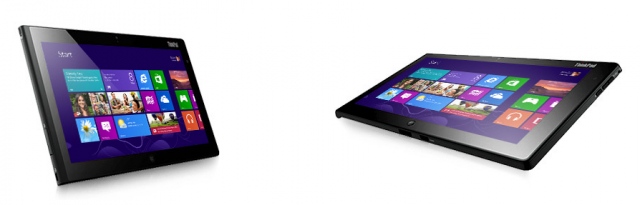 The Lenovo ThinkPad Tablet 2, which comes with a stylus and active digitizer