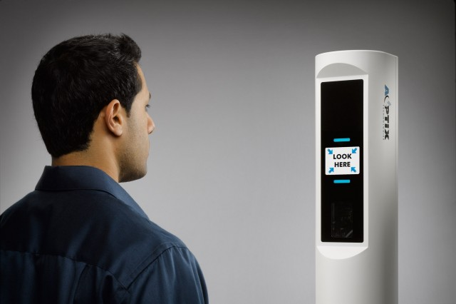 AOptix's InSight Duo can take an iris scan from two meters away in just six seconds.