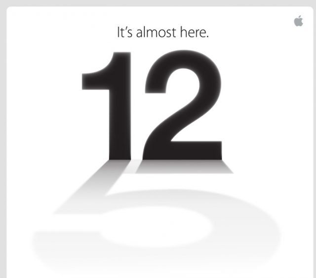 Apple confirms September 12 event: