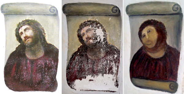 Internet-famous octogenerian Ecce Homo