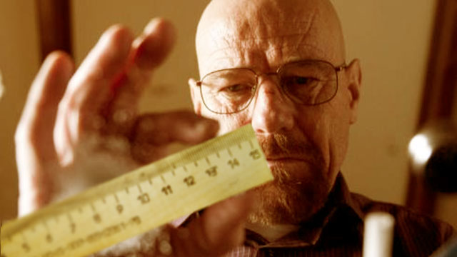Pretty sure that's the wrong Heisenberg trying to measure something.