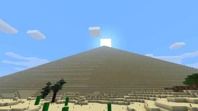 Sunrise over the Pyramid of Zaktar.