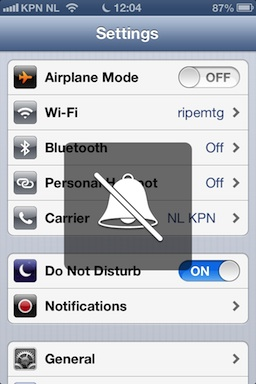 iphone wont vibrate on silent op ed ios 6 s do not disturb and the ring silent switch 1231