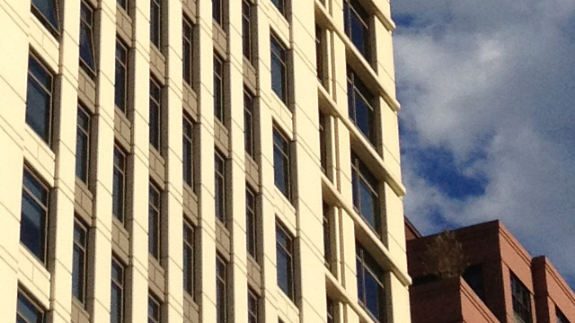 A 100% crop from the iPhone 4S image. Note the details along edges.
