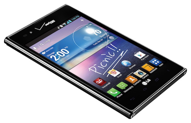The LG Inuition, international alias the LG Optimus Vu