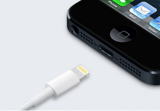 The Lightning cable and connector