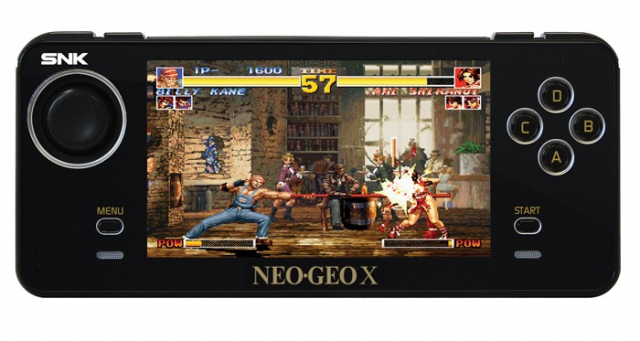 Portable Neo Geo X Available For 130 Without Accessories