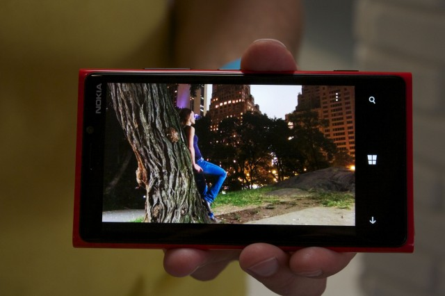 The low-light performance of the Lumia 920