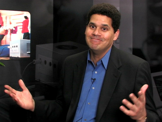 When addressing the Wii U's online features, Nintendo of America President Reggie Fils-Aime has responded with a functional shrug.