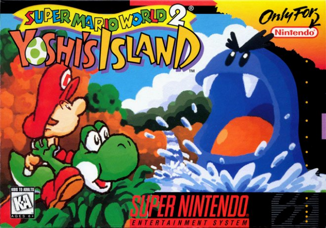 Super Mario World New Yoshis Island Right Snes