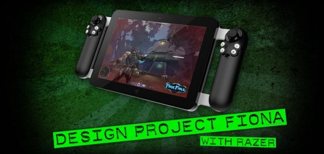 Razer confirms Windows 8 gaming tablet with integrated gamepad