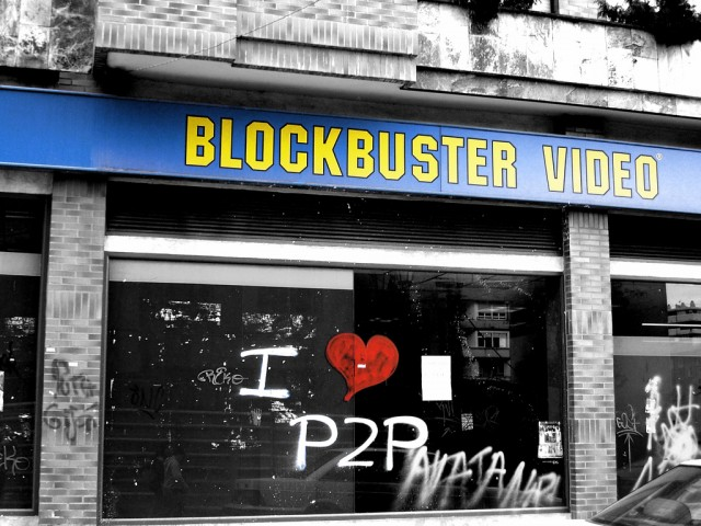 Dish Network, Blockbuster's parent company, has given up on trying to take out Netflix or any of its video rental rivals.