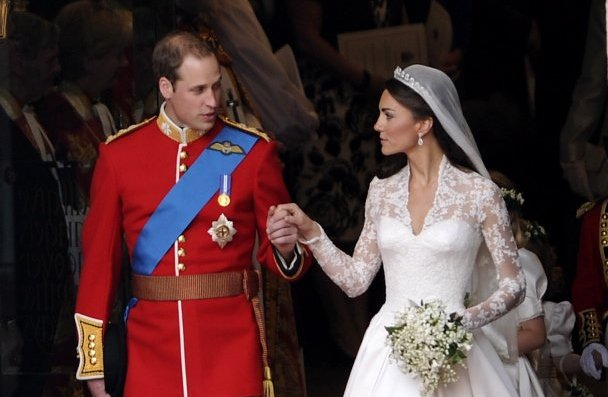 Knockoffs of Kate Middleton's dress, which was created by English designer Sarah Burton, appeared for sale in the United States within days of her wedding to Prince William.