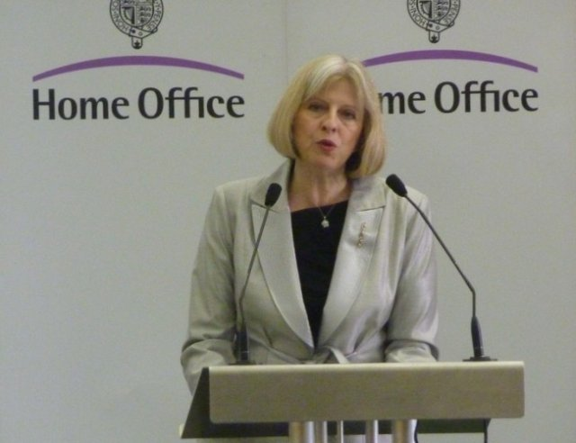 Home Secretary Theresa May made the decision to halt McKinnon's extradition.