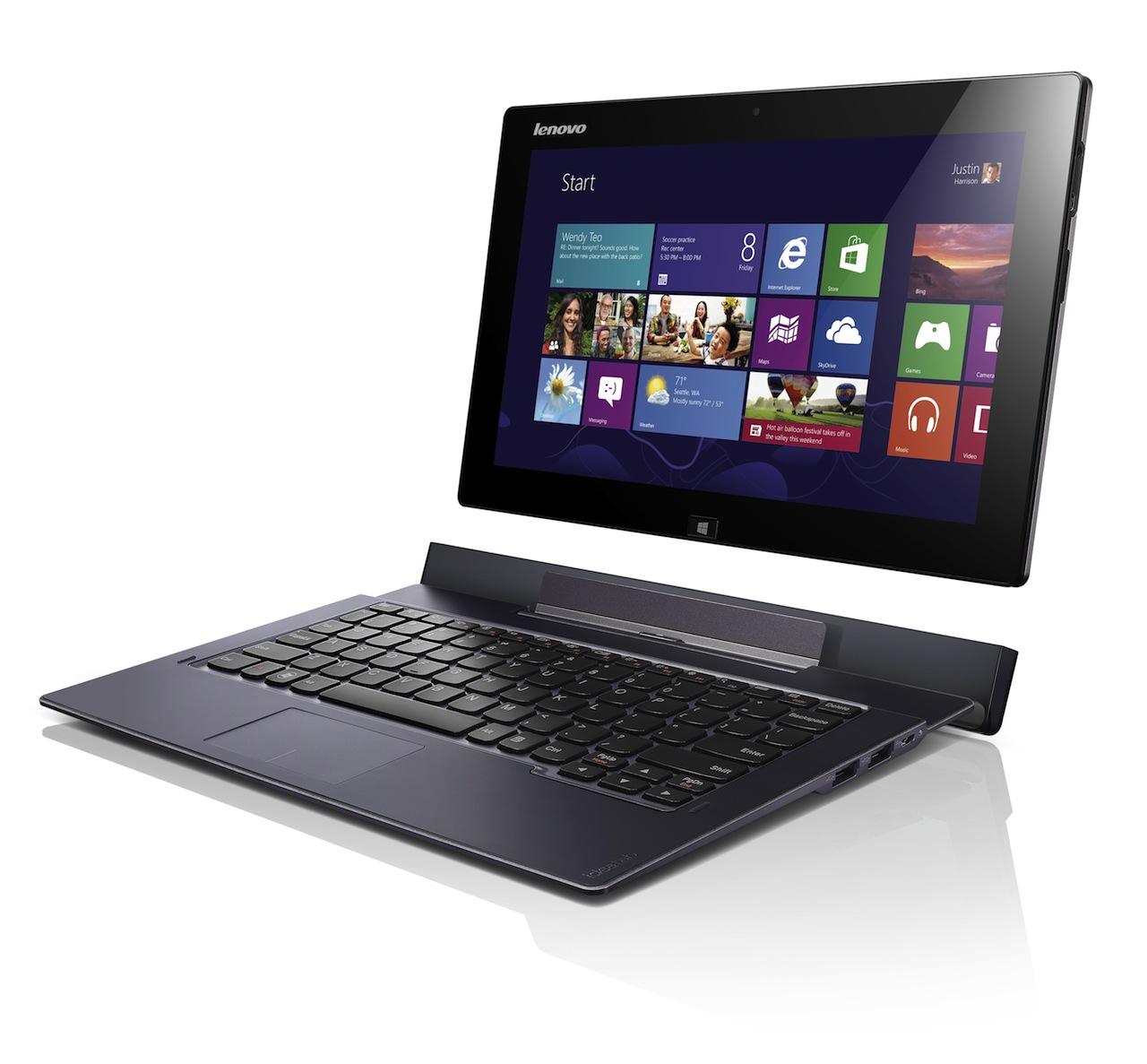 Lenovo Unveils Slew Of Tablets With Keyboards  Laptops With Touchscreens