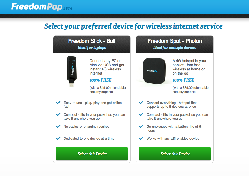 FreedomPop launches free 500MB mobile data service | Ars