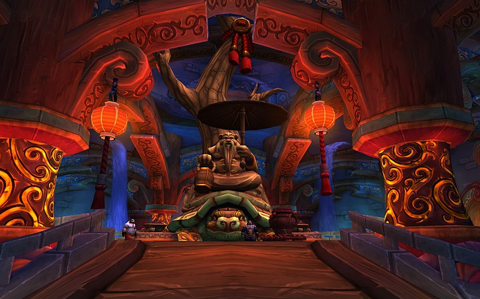 The graphical richness of the environments inside the <em>WoW</em> mythology is still here, and it has depth.