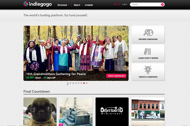 How to get your Indiegogo crowdfunding campaign to the top