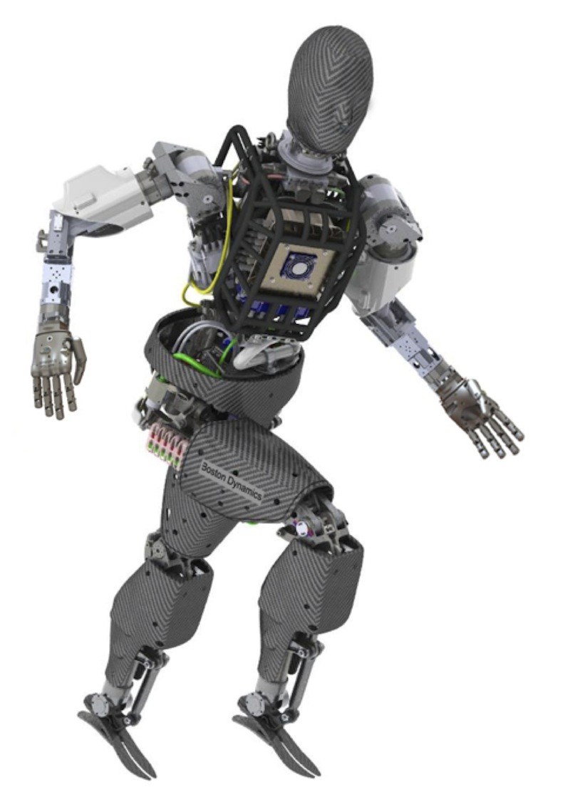 Because of the tasks planned for the Grand Challenge, many entries (along with the standard issue robot, shown here) will be roughly humanoid.