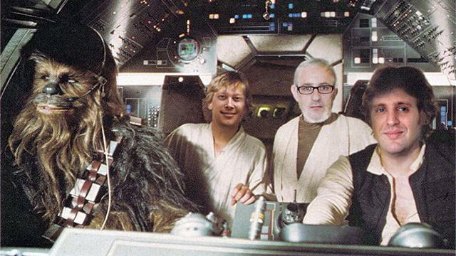 The time that I rode in the <em>Millennium Falcon</em> with Kyle Orland, Jonathan Gitlin, and Eric Bangeman.