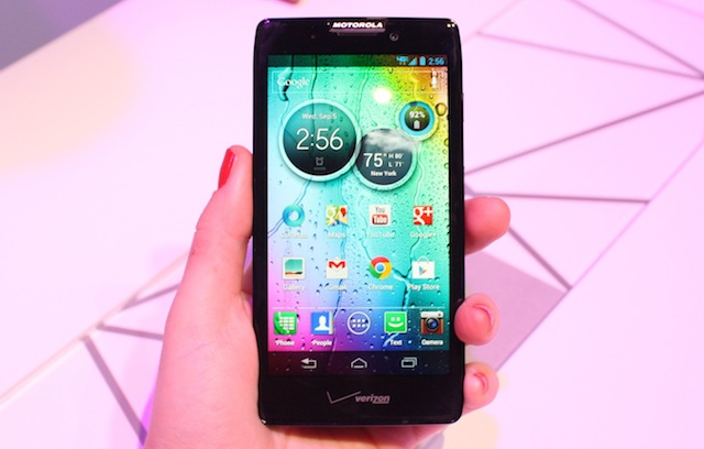 The Droid Razr Maxx HD has a purported 21-hour battery life.