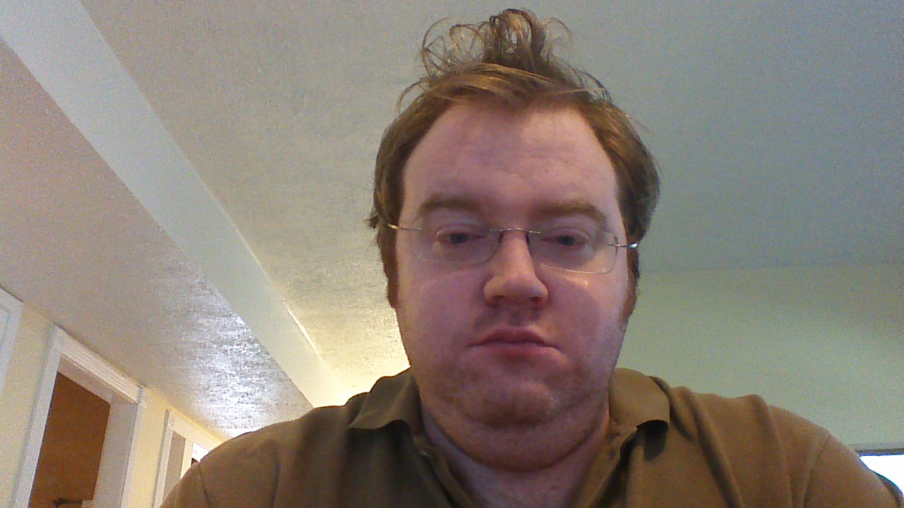 In typical indoor light, the picture quality was everything we have come to expect from cheap webcams.