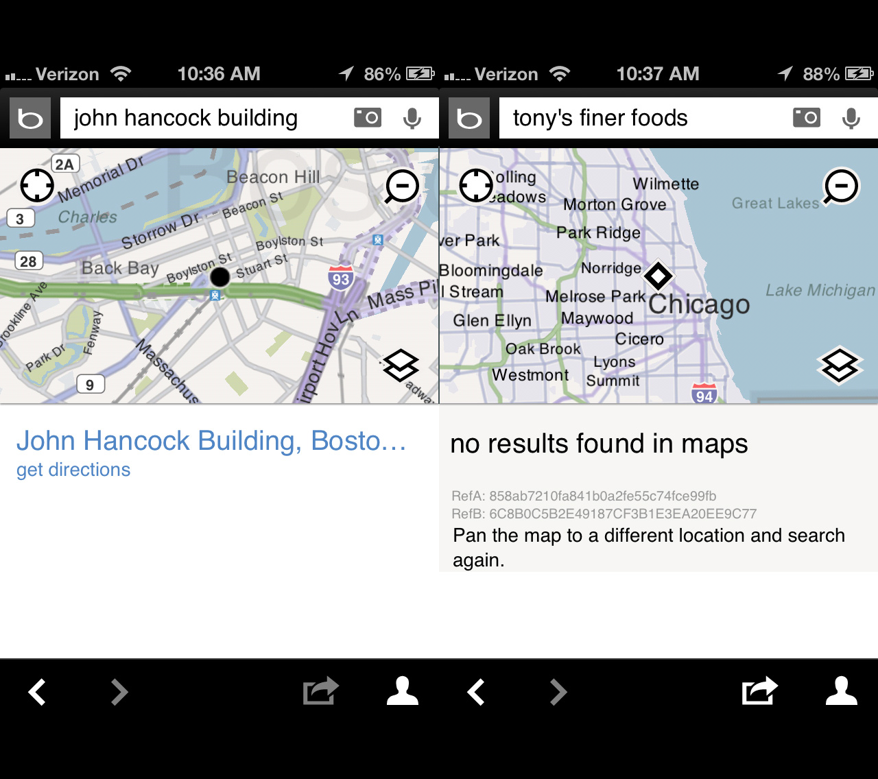 Replacing iOS 6 Maps Handson with MapQuest Bing Waze Google