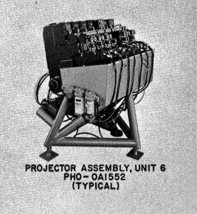 An Eidophor projector.