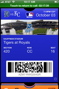 MLB: Baseball fans taking to iOS 6 Passbook like ducks to water
