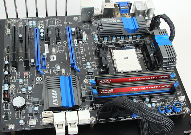 motherboard makers have introduced a robust slate of socket fm2-compatible  offerings to play host to trinity, including msi's snappily named fm2-a85xa-g65