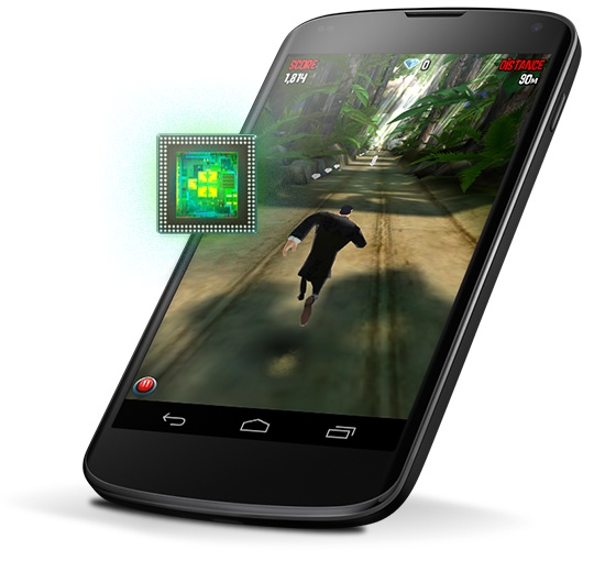 The Nexus 4 certainly won't want for speed.
